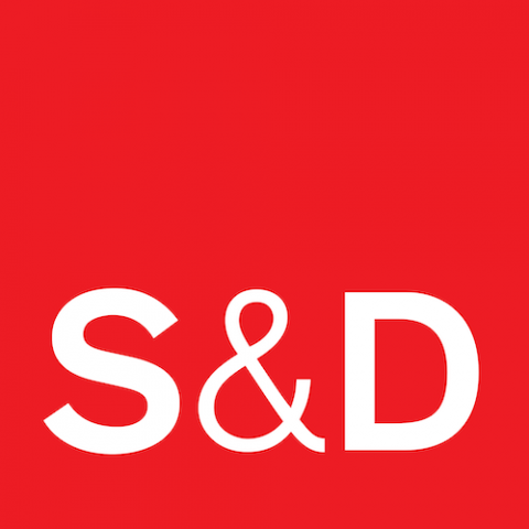 S&D logo white